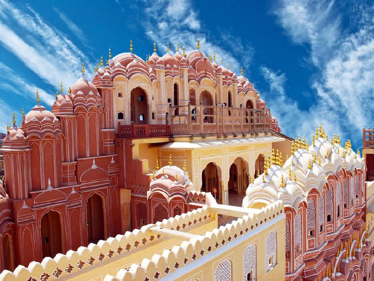 जंतर-मंतर और अल्बर्ट हॉल के बाद हवामहल का भी बनेगा मॉडल,एडमा4 महीने में करेगा प्रोजेक्ट पूरा|जयपुर,Jaipur - Dainik Bhaskar