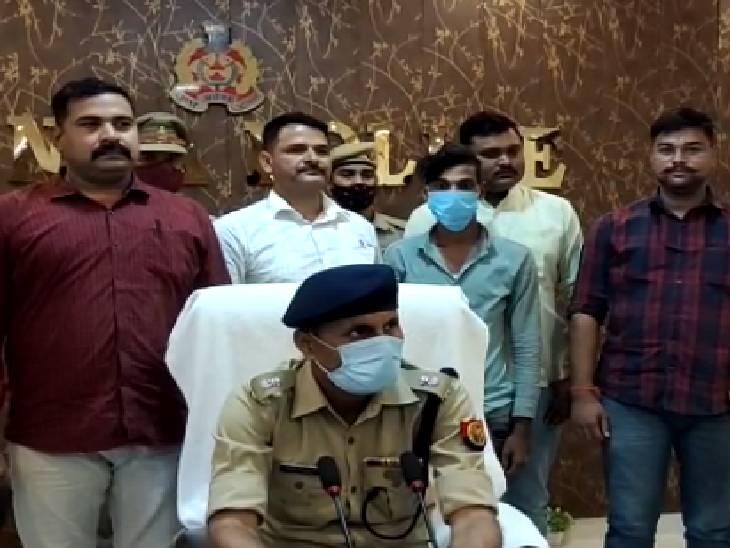 भतीजी ने प्रेमी के साथ मिलकर की थी चाचा की हत्या, आठ दिन बाद पुलिस ने किया गिरफ्तार बांदा,Banda - Dainik Bhaskar
