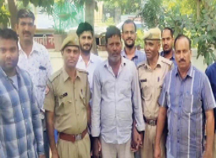 एक साल में 36 चेन लूटने वाले को सीएसटी ने पकड़ा|जयपुर,Jaipur - Dainik Bhaskar