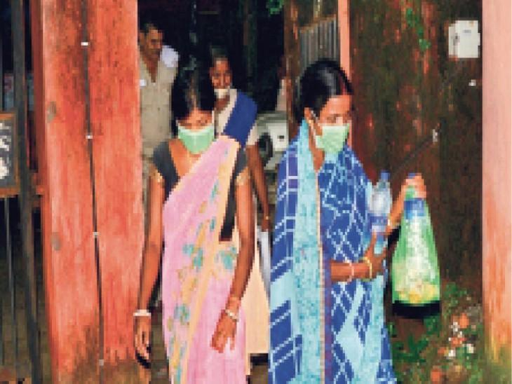 तीन साल से नहीं हाे रहा था बच्चा, ससुराल वाले देेते थे ताना, गर्भवती का नाटक रच नवजात काे ले भागी|धनबाद,Dhanbad - Dainik Bhaskar