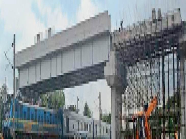 जुगसलाई ओवर ब्रिज चार लाख लोगों की परेशानी होगी कम|जमशेदपुर (पूर्वी सिंहभूम),Jamshedpur (East Singhbhum) - Dainik Bhaskar