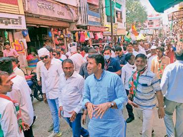 मोदी सरकार के कारनामों से देश व जनता की बढ़ी है समस्या- पटवारी|नेपानगर,Nepanagar - Dainik Bhaskar