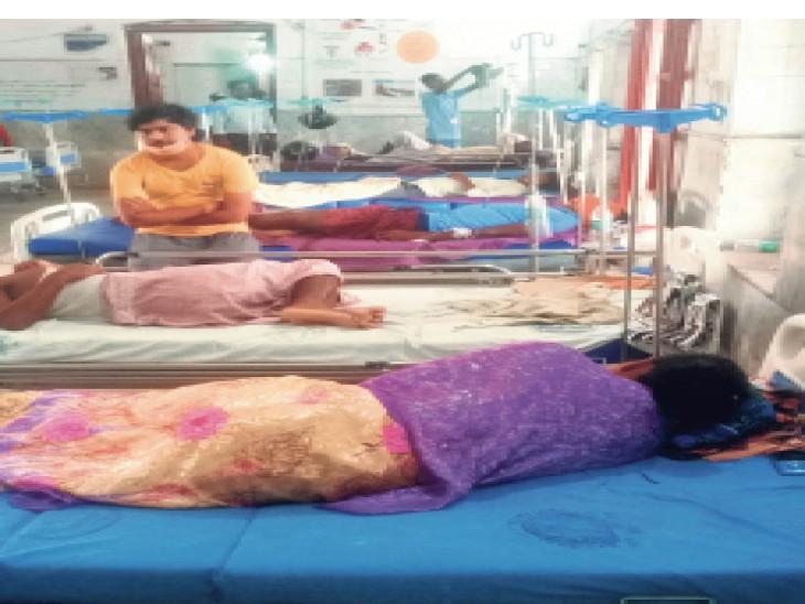 डायरिया का प्रकोप बढ़ा, ताे उजागर हुईं खामियां सदर अस्पताल व सेंट्रल गोदाम में स्लाइन भी खत्म|मुजफ्फरपुर,Muzaffarpur - Dainik Bhaskar