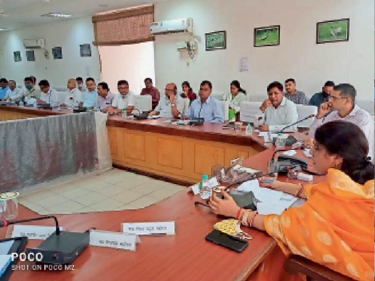 बोलीं- 7 दिन में नहीं रुका तो अफसरों कार्रवाई|भरतपुर,Bharatpur - Dainik Bhaskar