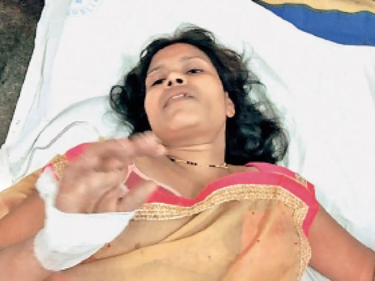 दिल की बीमारी से लड़ रहा पति, उनकी पीड़ा देख नहीं पाई तो सिम्स की चाैथी मंजिल से कूदी महिला बिलासपुर,Bilaspur - Dainik Bhaskar