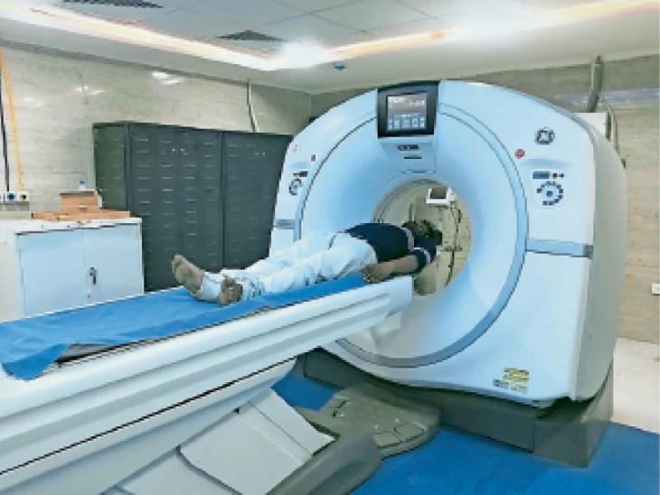 सिम्स में सीटी स्कैन शुरू; अब मरीजों को यहीं मिलेगा इलाज, रुटीन ऑपरेशन सोमवार से बिलासपुर,Bilaspur - Dainik Bhaskar
