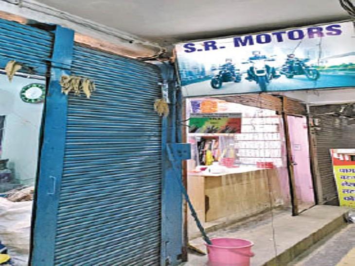 श्याम मार्केट पंडरी में एक ही रात 4 दुकानों के ताले तोड़कर चोरी|रायपुर,Raipur - Dainik Bhaskar