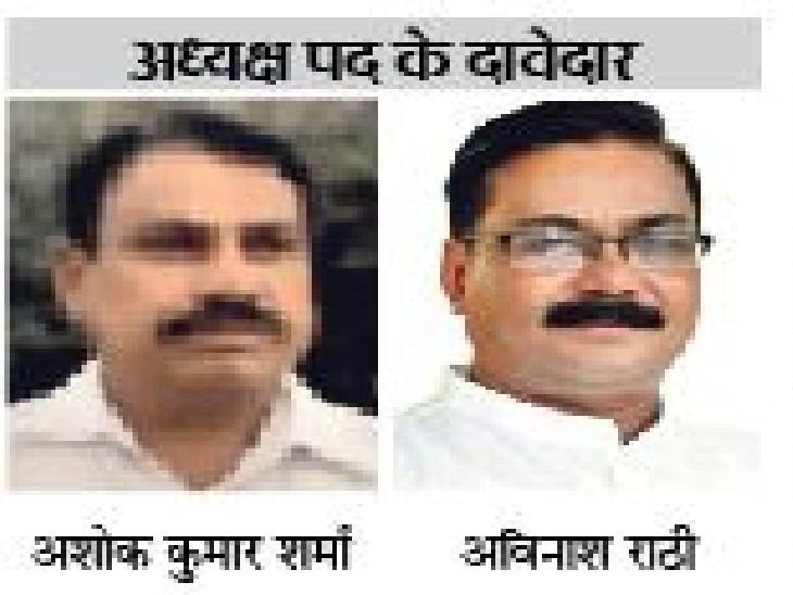 तीन-तीन बार अध्यक्ष रह चुके राठी और शर्मा आमने-सामने|कोटा,Kota - Dainik Bhaskar