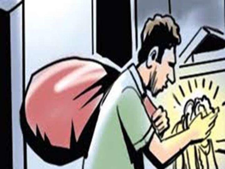 तीर्थ यात्रा पर गए थे अधीक्षक, सूने घर से 1.85 लाख की चोरी|सागर,Sagar - Dainik Bhaskar