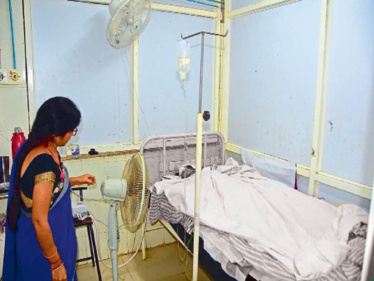 बीएमसी के बर्न वार्ड में जलन से तड़प रही युवती की मौत|सागर,Sagar - Dainik Bhaskar