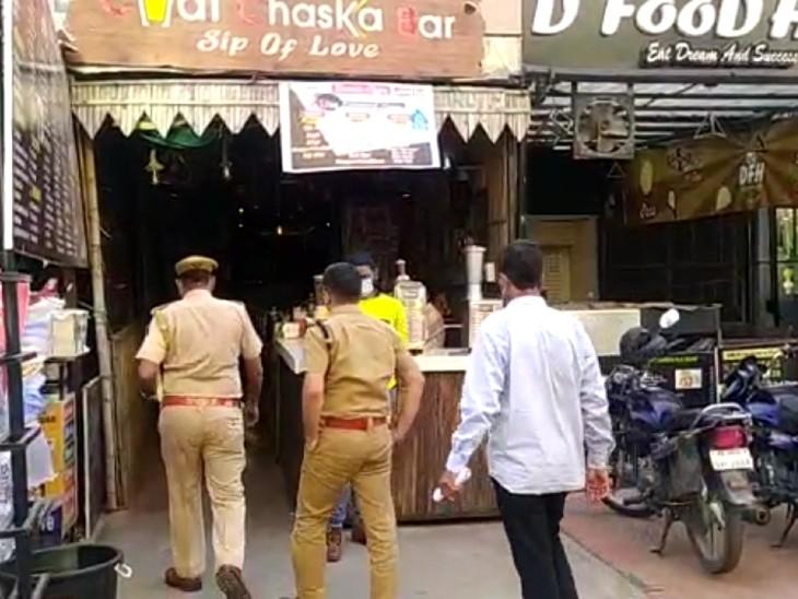 कैमरे किराए पर लेने के बहाने आए बदमाश, टेप से ऑपरेटर के हाथ-पैर और मुंह बांधा|कोटा,Kota - Dainik Bhaskar