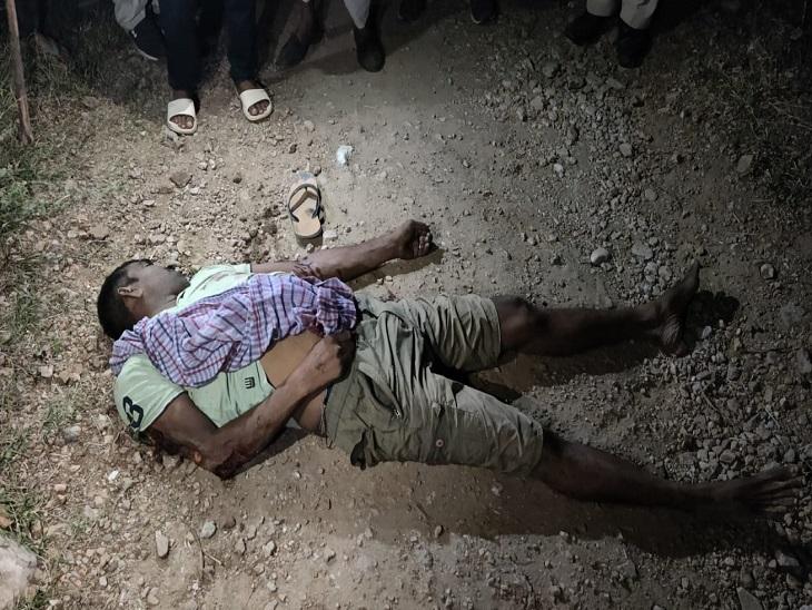 परिवार ने कहा-रात को काम से बाहर गया था,अज्ञात वाहन की टक्कर से मौत का मामला दर्ज|सीकर,Sikar - Dainik Bhaskar