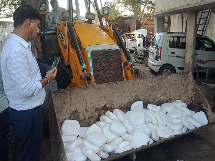 भीमसिका में कैमिकल से बना 15 क्विंटल पनीर पकड़ने के बाद ग्रामीणों ने बरसाए पत्थर, पुलिस ने की हवाई फायरिंग देश,National - Dainik Bhaskar