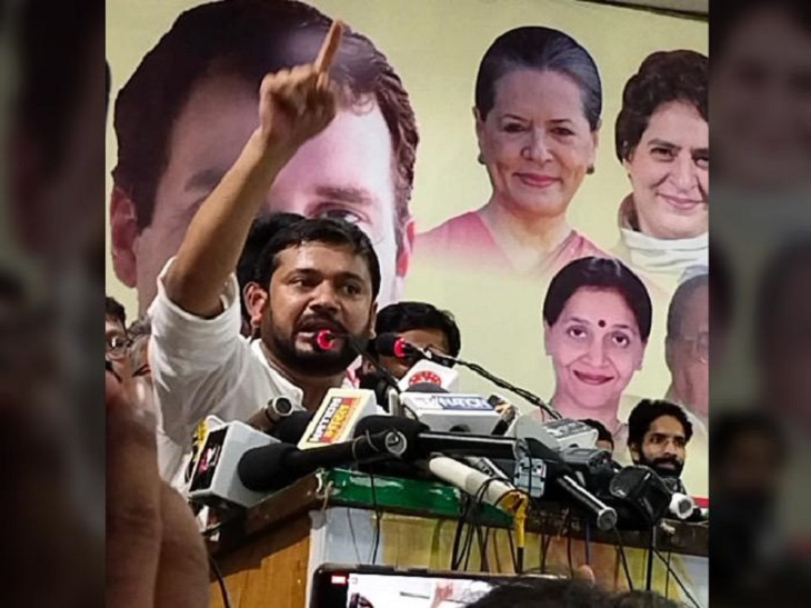 RJD-तेजस्वी पर बिना नाम लिए किया व्यंग, कहा- कांग्रेस ने ही बिहार को बनाया|पटना,Patna - Dainik Bhaskar