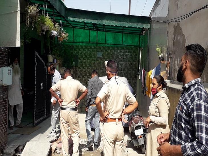 अतिक्रमण हटाते समय एक कर्मचारी का हाथ और चेहरा झुलसा, 3 अन्य को जोरदार झटका|अम्बाला,Ambala - Dainik Bhaskar