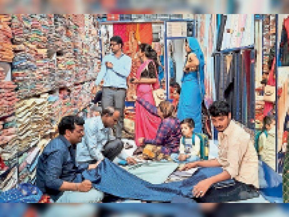 कोरोना की मंदी से उबरा बाजार, त्योहारों पर 30 करोड़ रुपए के व्यापार की उम्मीद|जयपुर,Jaipur - Dainik Bhaskar