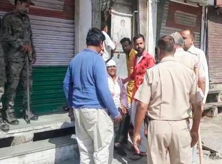 एक ही घर में रहता है परिवार, विवाद में धारदार हथियारों से हमला, 6 घायल|जयपुर,Jaipur - Dainik Bhaskar