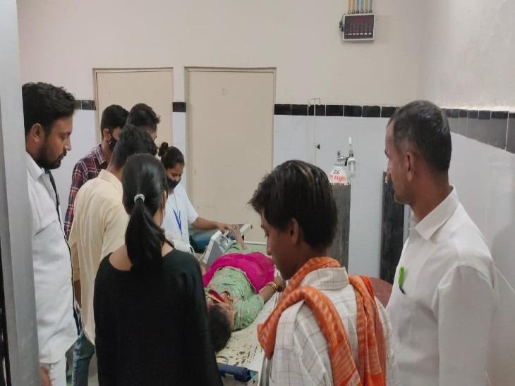 बाड़मेर में मिनी बस ने बाइक को टक्कर मारी, बहन को ससुराल लेकर आ रहे भाई की मौत, महिला जख्मी|जयपुर,Jaipur - Dainik Bhaskar