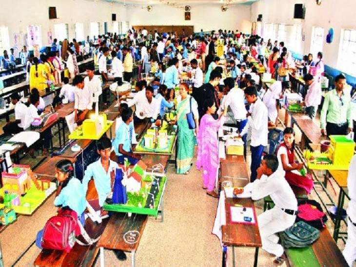विज्ञान मॉडल प्रतियोगिता में नेशनल वाले छात्र जापान जाएंगे, बेहतर आइडिया में सरकार करेगी निवेश|रायपुर,Raipur - Dainik Bhaskar