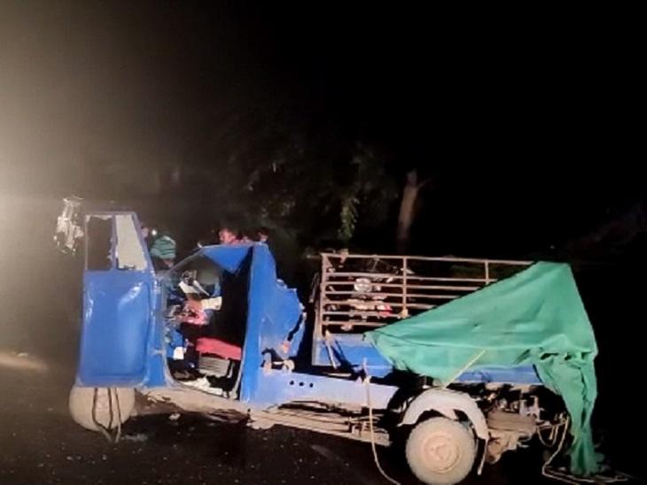 बेमेतरा में शोक कार्यक्रम में शामिल होकर भिलाई लौट रहा था परिवार; सभी 8 घायल रायपुर रेफर भिलाई,Bhilai - Dainik Bhaskar
