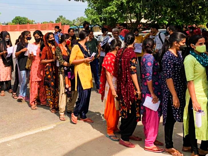 माधुरी ने कहा दूसरी पारी का पेपर कठिन, बोर्ड रिजल्ट से पहले लागू करें नया फार्मूला; रमेश बोले- अब तो धांधली रोके सरकार|जयपुर,Jaipur - Dainik Bhaskar
