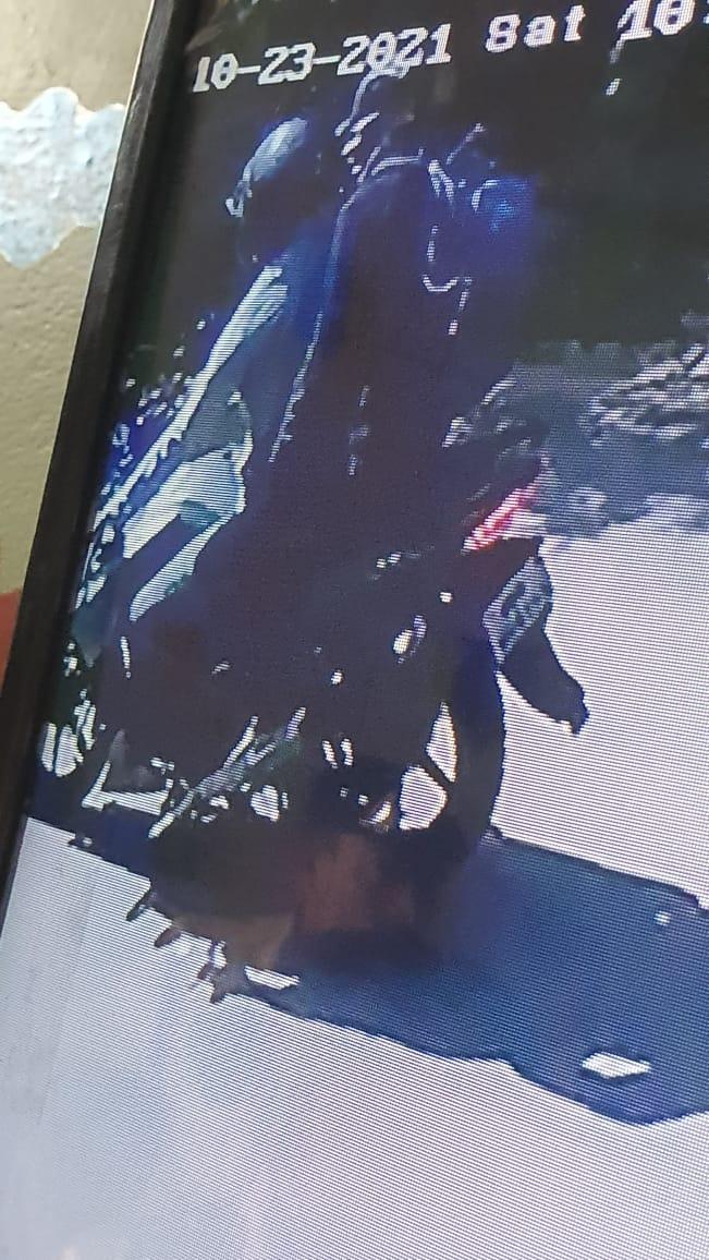 बाइक सवार दो बदमाश बुजुर्ग महिला के गले से खींची चेन, CCTV में कैद बदमाश|होशंगाबाद,Hoshangabad - Dainik Bhaskar