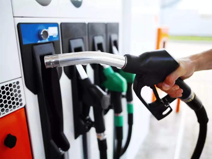 पेट्रोल 114.48 और डीजल 105.71 रुपए लीटर पर पहुंचा, अक्टूबर में रिकॉर्ड तोड़ रही महंगाई|जयपुर,Jaipur - Dainik Bhaskar