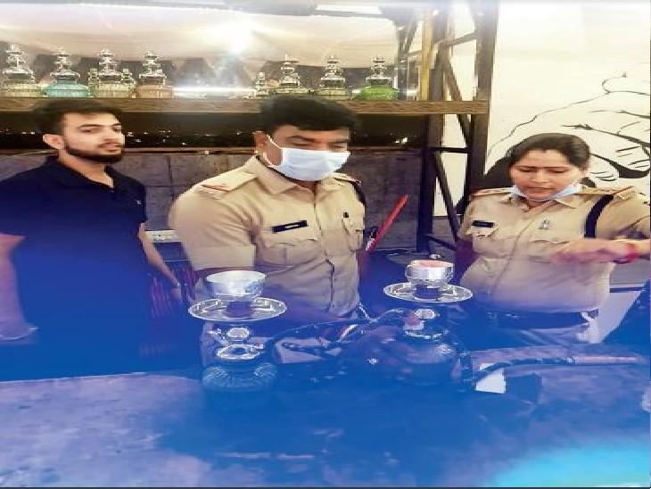 रायपुर में 125 हुक्का बार, 2 साल में 19 छापे, जुर्माना कम इसलिए नशीले धुएं का गुबार|रायपुर,Raipur - Dainik Bhaskar