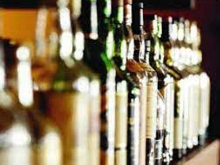 साल के बीच शराब दुकान चुपचाप हटाकर प्लाटिंग की|रायपुर,Raipur - Dainik Bhaskar