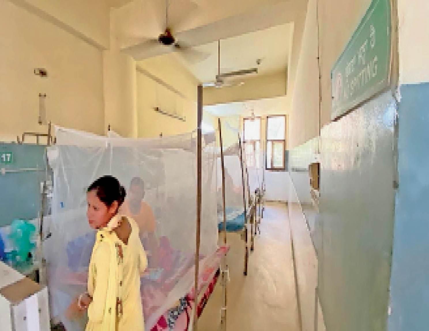 सिविल में 14, प्राइवेट अस्पतालों में 75 मरीज नवंबर के शुरुआती दिनों में ही मिलेगी राहत जालंधर,Jalandhar - Dainik Bhaskar