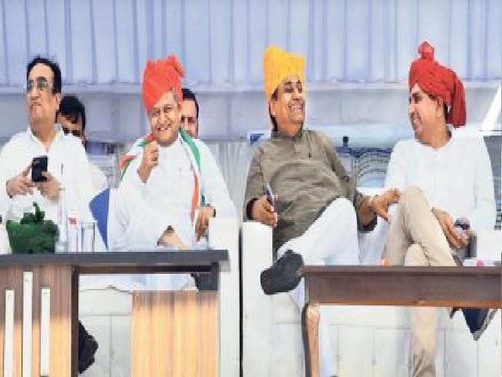 लोगों को सरकारी कार्यालयों के चक्कर नहीं काटने पड़ें, इसलिए चला रहे अभियान|जयपुर,Jaipur - Dainik Bhaskar