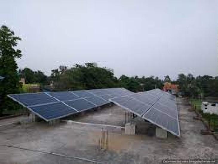 छत्तीसगढ़ में बिजली संकट नहीं, फिर भी छोटे उद्योगों की सोलर एनर्जी में रुचि, महीने में 500 रजिस्ट्रेशन|रायपुर,Raipur - Dainik Bhaskar
