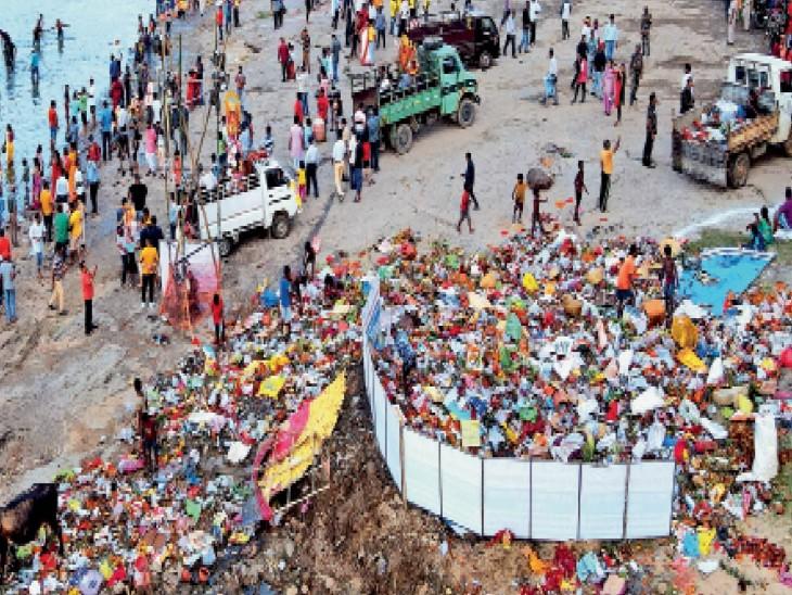 पिछले सालों की तुलना में इस बार खरकई और सुवर्णरेखा नदी में प्रदूषण का स्तर काफी कम, जांच में नदी में घातक रासायनिक पदार्थ नहीं मिले|जमशेदपुर (पूर्वी सिंहभूम),Jamshedpur (East Singhbhum) - Dainik Bhaskar