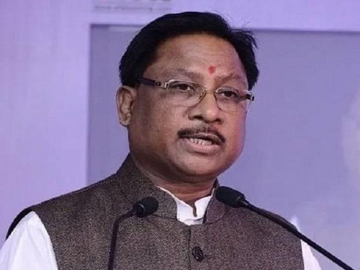 प्रदेश अध्यक्ष ने कहा- ये सरकार की तानाशाही; असली आरोपी छोड़कर, हमारे नेताओं को भेज रहे जेल|रायपुर,Raipur - Dainik Bhaskar