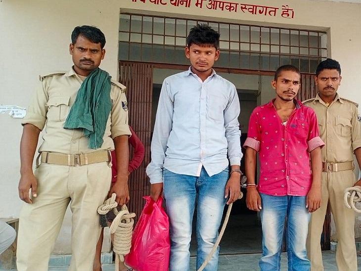 पुलिस टीम पर रोड़ेबाजी कर गाड़ी में की थी तोड़फोड़, 2 अक्टूबर से हो रही थी खोज|मुजफ्फरपुर,Muzaffarpur - Dainik Bhaskar