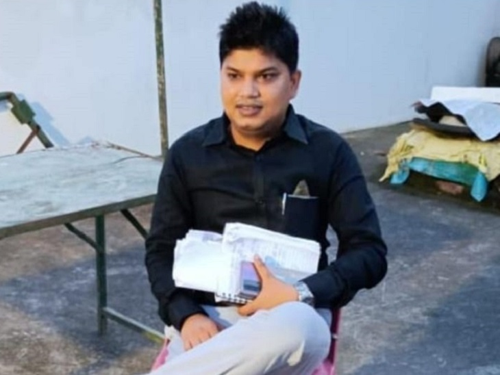 बिहार के मंत्री जनक राम का PA जाली एंट्री पास पर एक साल तक घूमता रहा, MP की शिकायत पर अरेस्ट|पटना,Patna - Dainik Bhaskar