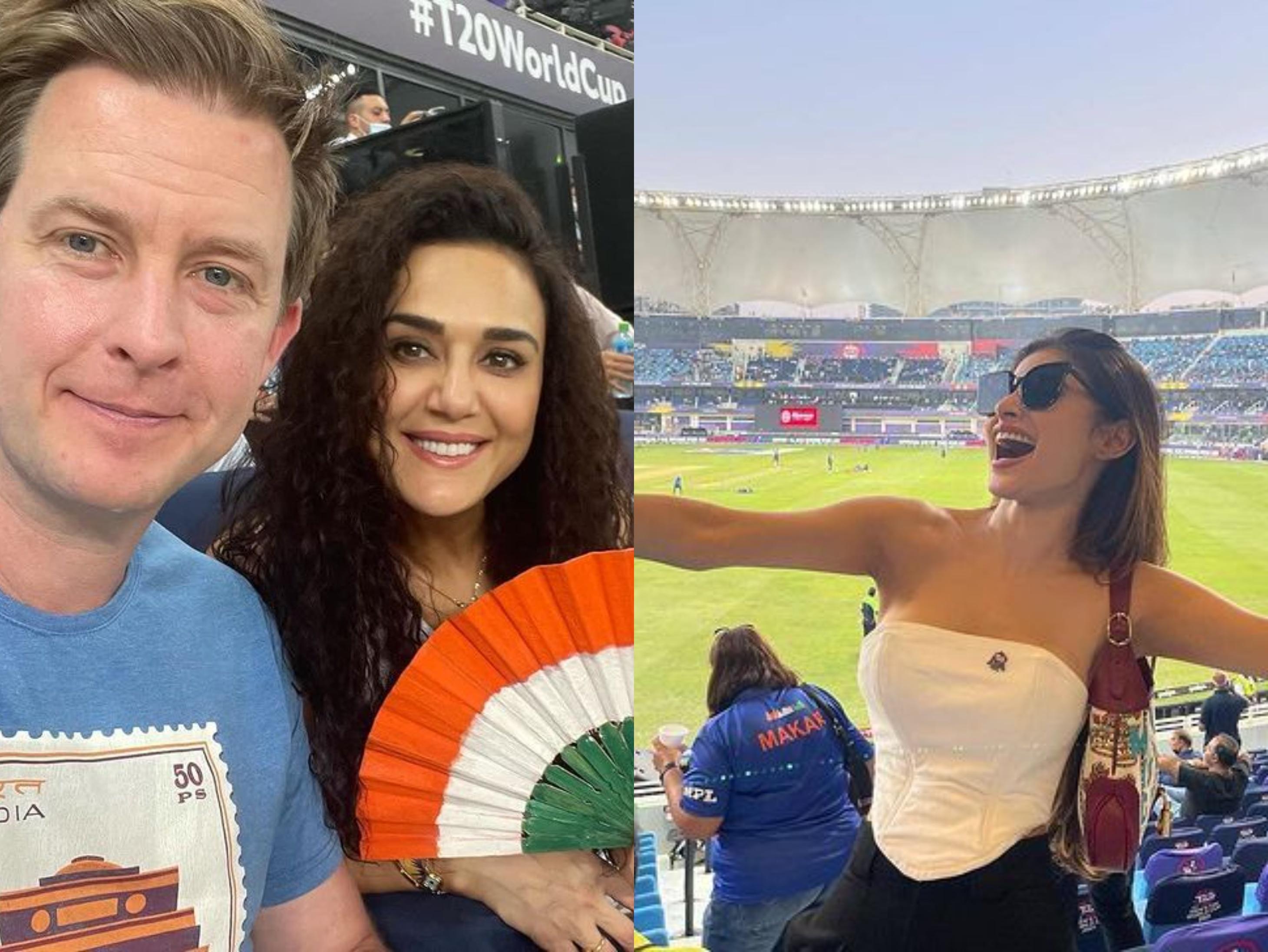 इंडिया V/S पाक:महामुकाबला देखने दुबई पहुंचे अक्षय कुमार, मौनी रॉय और उर्वशी रौतेला; प्रीति जिंटा बोलीं ये है स्पोर्टी करवा चौथ