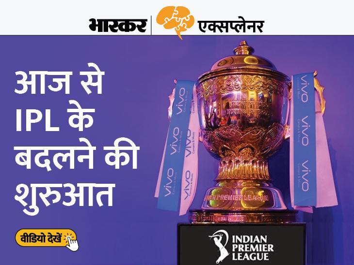 IPL की 2 नई टीमों का ऐलान, 11 साल बाद 2022 में खेलेंगी 10 टीमें, जानें इससे कितना बदलेगा IPL? एक्सप्लेनर,Explainer - Dainik Bhaskar