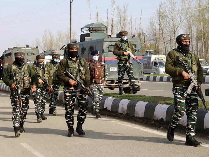 दहशतगर्दों ने सुरक्षाबलों को निशाना बनाकर ग्रेनेड फेका; 6 नागरिक घायल, 2 गंभीर देश,National - Dainik Bhaskar