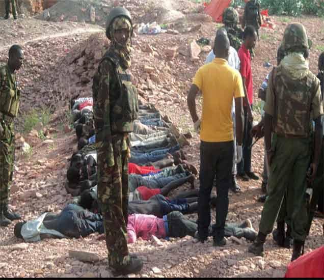 केनिया: अल शबाब दहशतवाद्यांचा खाणीवर हल्ला, 36 मुस्लिम मजुरांची हत्या|विदेश,International - Divya Marathi