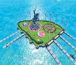 असे असेल समुद्रातील भव्य शिवस्मारक  - Divya Marathi