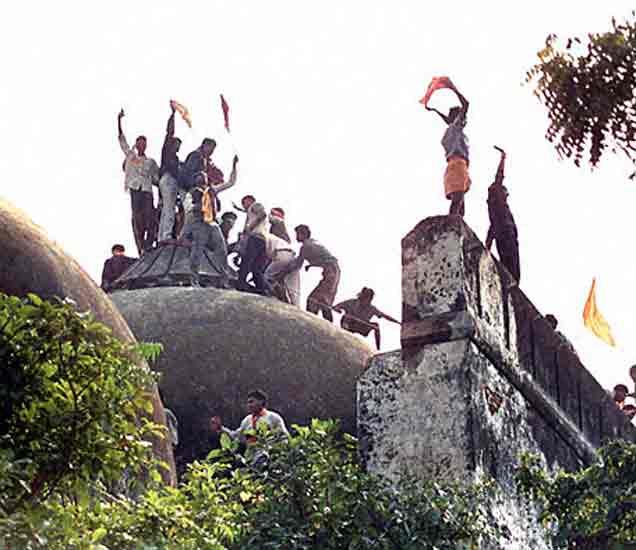 PHOTOS: बाबरी विध्वंसाला 22 वर्षे पूर्ण, जाणून घ्या, कसे पेटत गेले आंदोलन|देश,National - Divya Marathi