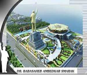 बाबासाहेबांच्या स्मारकाचे 14 एप्रिलला इंदू मिलवर भूमिपूजन- मुख्यमंत्र्यांची घोषणा|मुंबई,Mumbai - Divya Marathi
