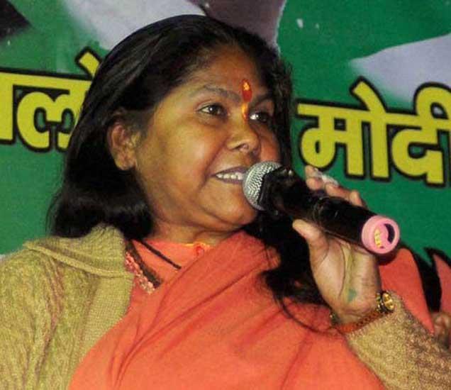 दंगल प्रभावित भागात साध्वी ज्योतींची सभा, म्हणाल्या - हाती सुदर्शनचक्र घ्यावे लागेल|देश,National - Divya Marathi