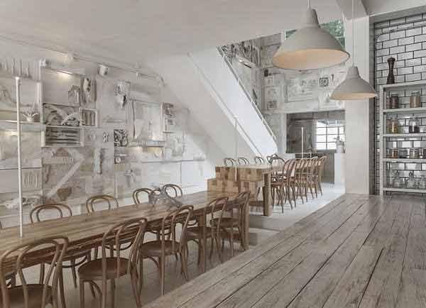 फक्त हाडांचा खच असलेला चार्ल्स डार्विनच्या अनुयायाचा रेस्तराँ, पाहा PICS| - Divya Marathi