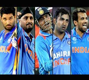26. वर्ल्ड कपमध्ये नाही दिसणार युवराज, गंभीर, जहीर, हरभजन आणि सेहवाग| - Divya Marathi