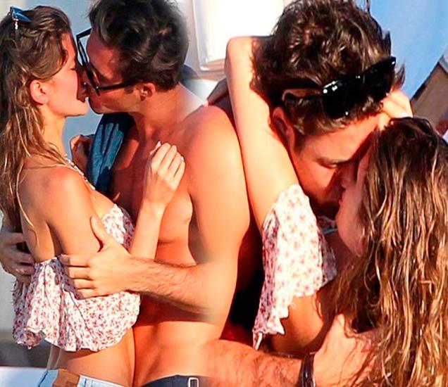 PICS: बीचवर दिसले Kiss करताना, पाहा कसे खुलेआम झाले रोमँटिक  - Divya Marathi