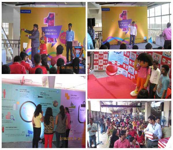 विविध कार्यक्रम व उपक्रमासह मुंबईकरांनी आपल्या लाडक्या मेट्रोचा पहिला वाढदिवस मोठ्या उत्साहात साजरा केला. - Divya Marathi