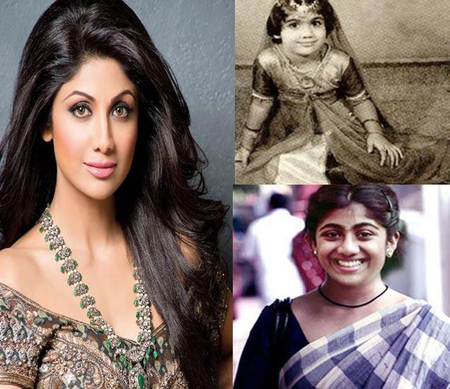 B'day: 40 वर्षांची झाली शिल्पा, बालपणापासून एवढा बदलत गेला चेहरा|देश,National - Divya Marathi