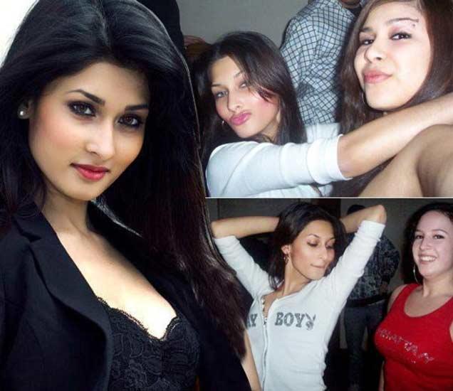 मित्रांबरोबर पार्टीमध्ये एन्जॉय करताना शाकिबची पत्वी उम्मी. - Divya Marathi